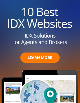 10 Best IDX Websites - Agent Image