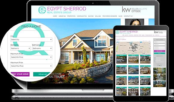 Egypt Sherrod IDX Website Design