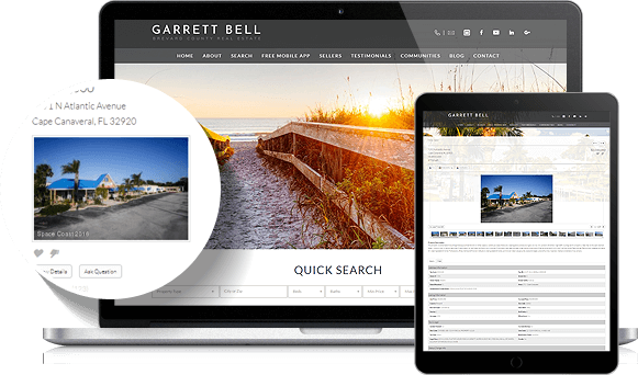 Garrett Bell IDX Website Design