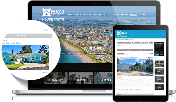 House Facts Home-Selling Team IDX Website Design