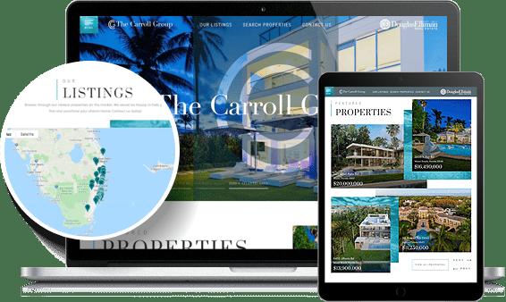 The Carroll Group IDX Website Design