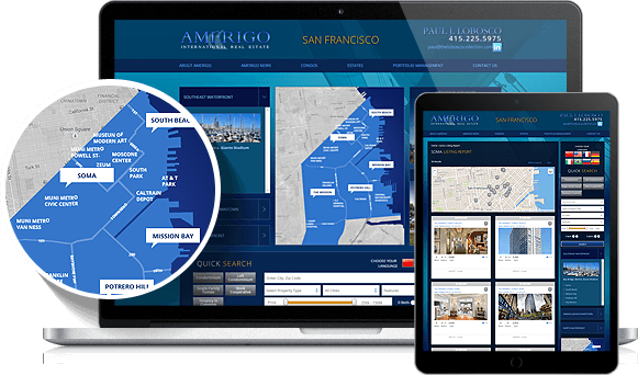 Amerigo IDX Website