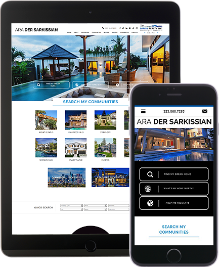 Ara Der Sarkissian - AgentImage Best Mobile Real Estate Websites