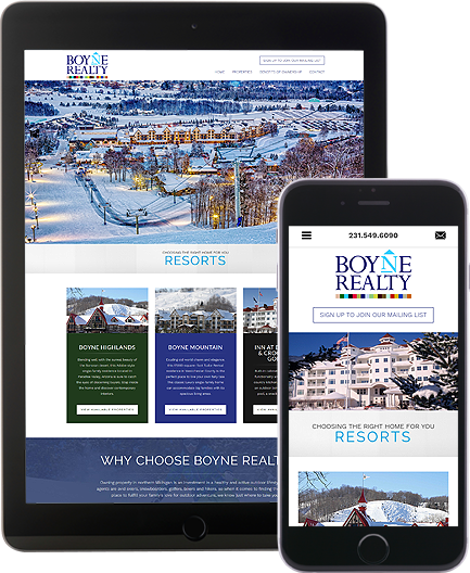 Boyne Realty - AgentImage Best Mobile Real Estate Websites