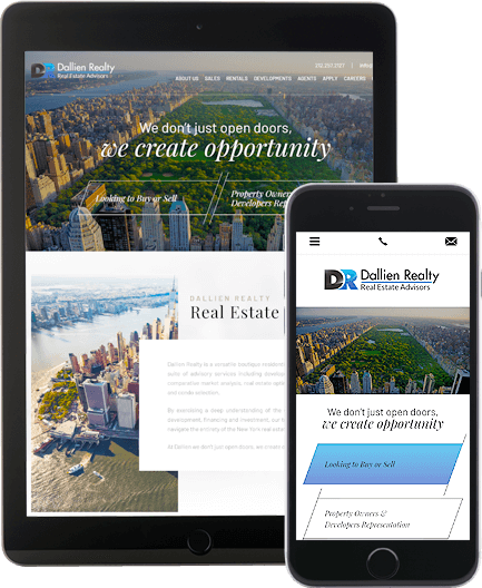 Dallien Realty - AgentImage Best Mobile Real Estate Websites