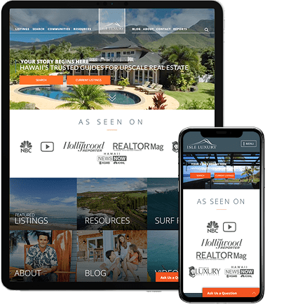 Isle Luxury - AgentImage Best Mobile Real Estate Websites