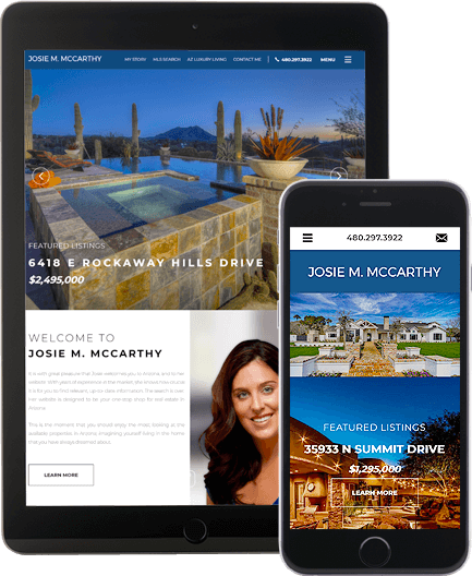 Josie McCarthy - AgentImage Best Mobile Real Estate Websites