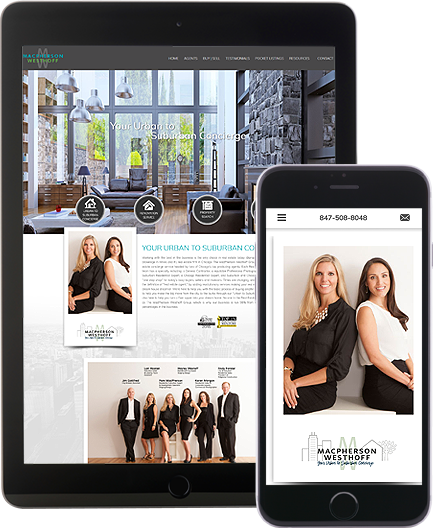 MacPherson Westhoff - AgentImage Best Mobile Real Estate Websites