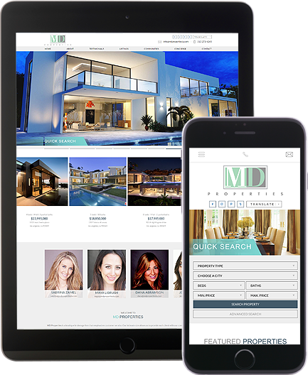 MD Properties - AgentImage Best Mobile Real Estate Websites