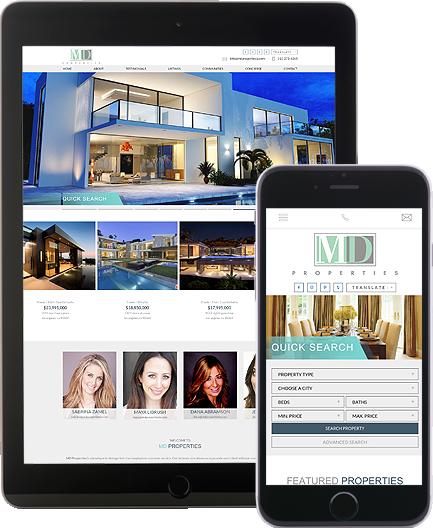MD Properties - AgentImage Best Mobile Real Estate Websites