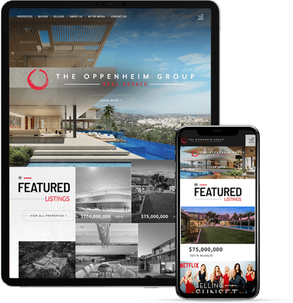The Oppenheim Group - AgentImage Best Mobile Real Estate Websites