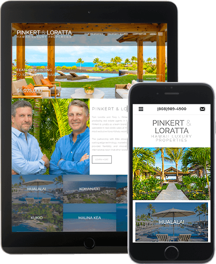 Pinkert & Loratta - AgentImage Best Mobile Real Estate Websites