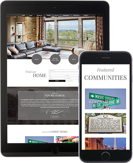 Von Richcreek - AgentImage Best Mobile Real Estate Websites