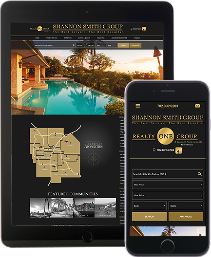 Shannon Smith Group - AgentImage Best Mobile Real Estate Websites