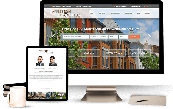 Appleton Properties - AgentImage Best Real Estate Marketing Website