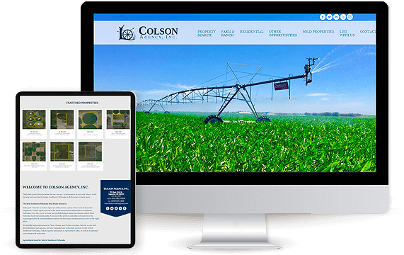 Colson Agency - AgentImage Best Real Estate Marketing Website