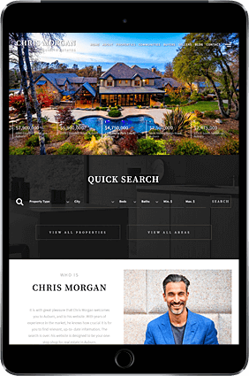 AgentPro Real Estate Websites. AgentPro Classic Design Sense