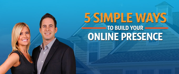 Image for 5 Simple Ways To Build Your Online Presence