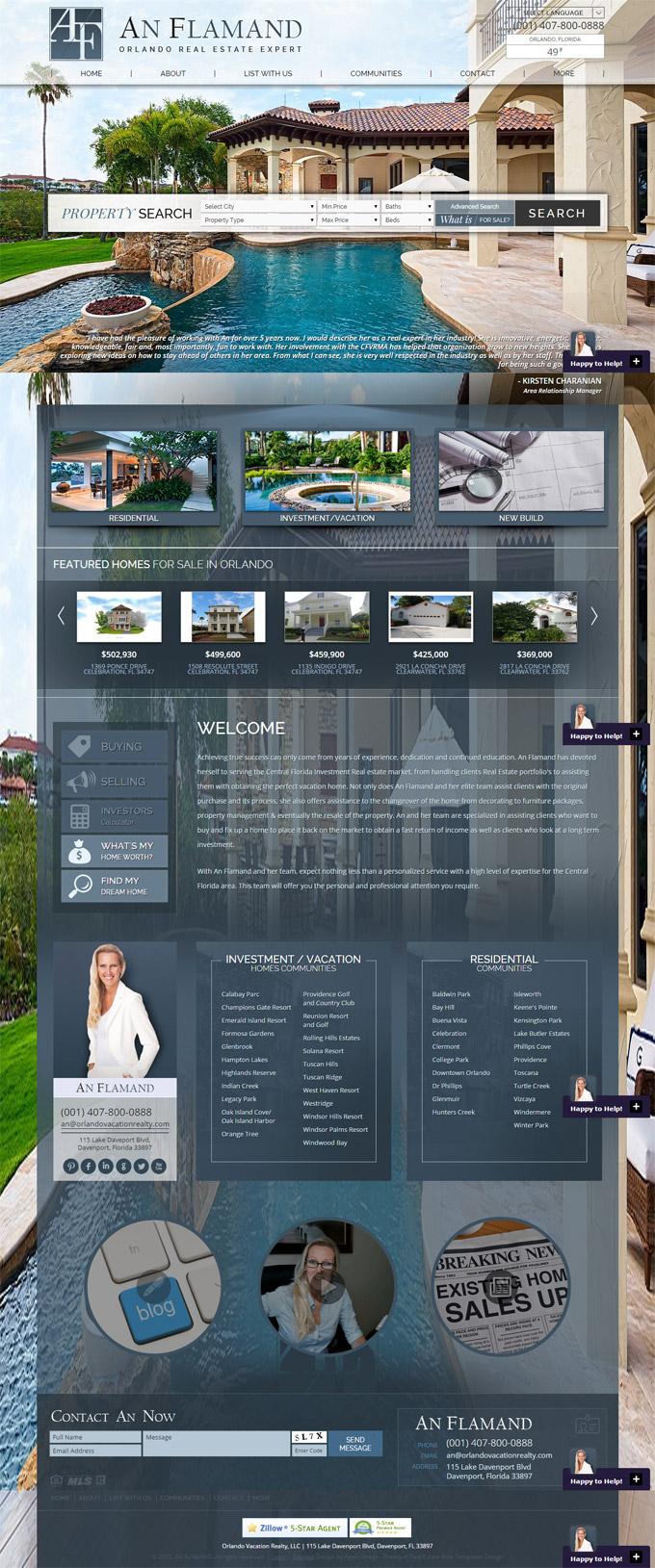 An Flamand's website