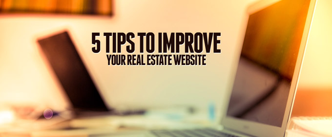 Image for 5 Tips to Improve Your Real Estate Website