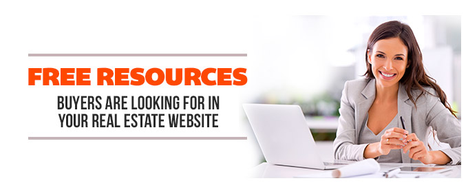Image for ​​Free Resources Buyers Are Looking For in Your Real Estate Website