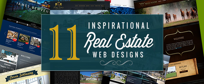Image for 11 Inspirational Real Estate Web Designs