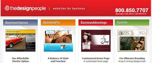 Image for The Design People Small Business Websites