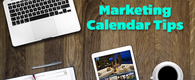 image for your real estate marketing calendar dos and donts