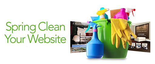 Image for Spring Cleaning Your Real Estate Website