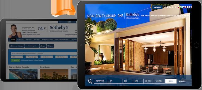 Real Estate Website Before & After