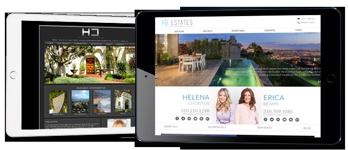 Stunning Real Estate Website Transformations