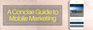 A Concise Guide to Mobile Marketing