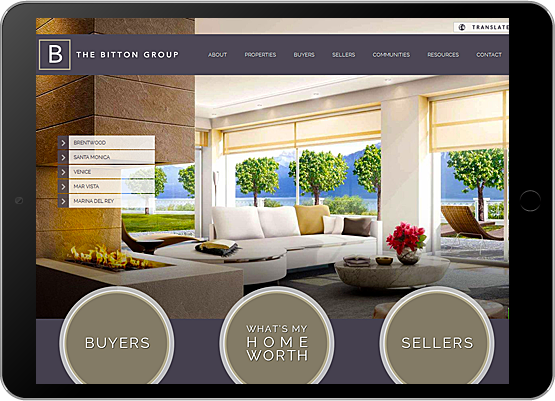 Best real estate home page design gallery decoration for Real estate home ideas