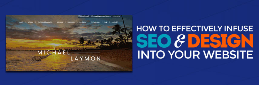 How to Effectively Infuse SEO and Design Into Your Website