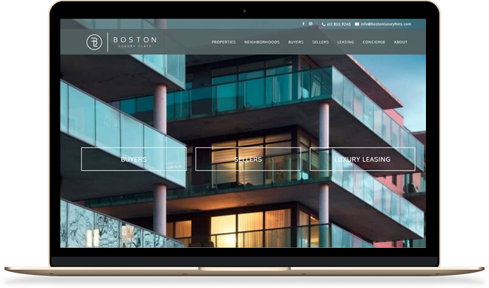 Most Influential Real Estate Websites Of Best Real Estate - Fresh commercial real estate listing presentation design
