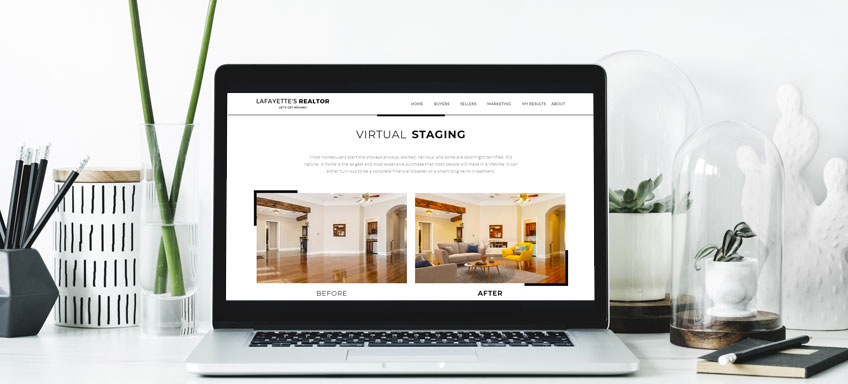 Use virtual staging