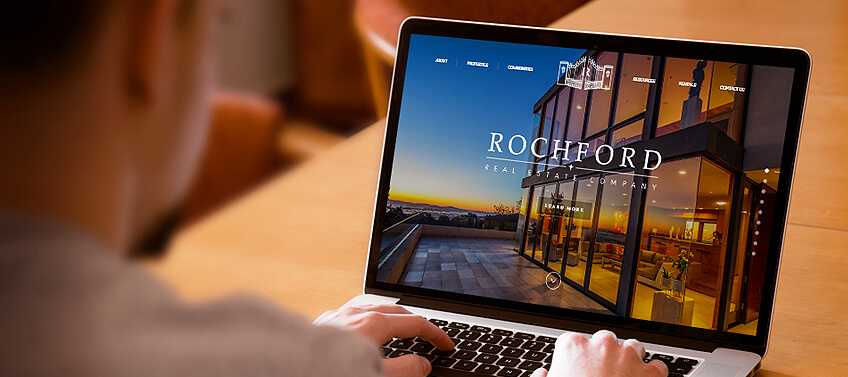 User-focused real estate website design with a well-planned navigation structure
