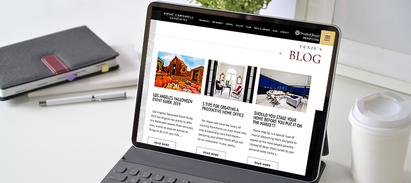 Start your very own real estate blog