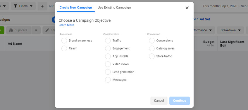 Setting up a successful Facebook ad campaign