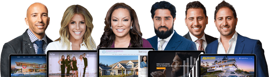 Top Celebrity Real Estate Agent Websites