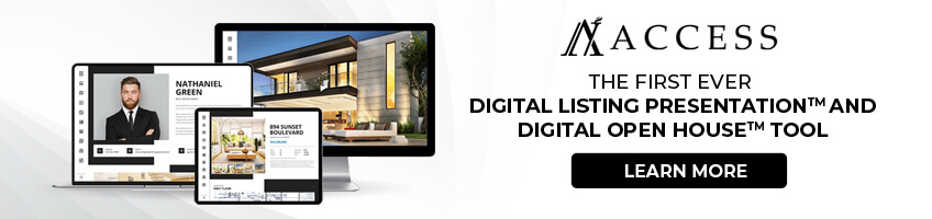 ACCESS Digital Listing Presentation™ and Digital Open House Tool™