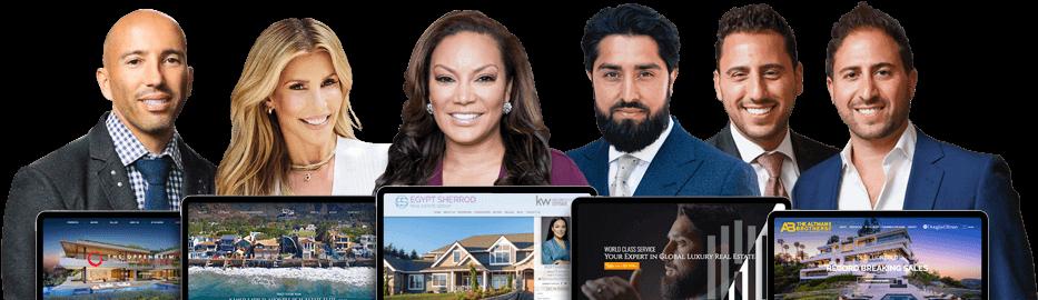 Top Celebrity Real Estate Agent Websites