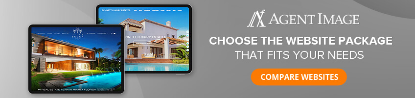 Agent Image - Choose the website package that fits your needs